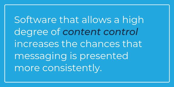 Advantages_ Content control